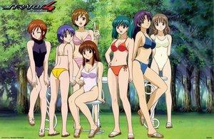 Rating: Safe Score: 9 Tags: doi_shizuha forest honjou_mikaze kikuhara_karin nakamura_ayamo ran_mikuriya sayaka_kisaragi stratos_4 swimsuit touko_mukai tree User: Oyashiro-sama