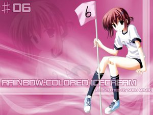 Rating: Safe Score: 1 Tags: nanao_naru rainbow_colored_icecream User: Oyashiro-sama