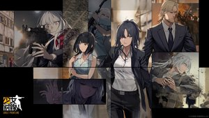 Rating: Safe Score: 44 Tags: ak12_(girls_frontline) ak15_(girls_frontline) an94_(girls_frontline) angelia_(girls_frontline) anthropomorphism aqua_eyes black_hair blonde_hair blue_hair brown_eyes duoyuanjun girls_frontline gray_eyes gray_hair group gun logo long_hair male ponytail purple_eyes rpk-16_(girls_frontline) short_hair sunglasses weapon User: Nepcoheart
