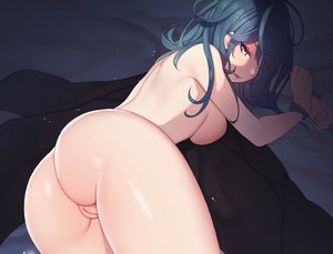 Rating: Explicit Score: 178 Tags: aqua_eyes ass bondage breasts byleth_(female) cropped fire_emblem long_hair nanoless nude pussy User: BattlequeenYume