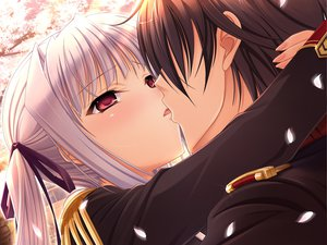 Rating: Safe Score: 71 Tags: game_cg komori_kei lisa_eostre male mizuno_takahiro ricotta walkure_romanze User: Maboroshi
