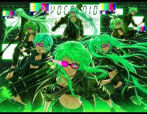 Rating: Safe Score: 101 Tags: bokura_no_16bit_warz_(vocaloid) glasses green green_eyes green_hair group gumi gun hatsune_miku kagamine_len kagamine_rin kaito kamui_gakupo male megurine_luka meiko polychromatic vocaloid weapon yuuno_(yukioka) User: HawthorneKitty