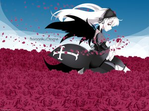 Rating: Safe Score: 23 Tags: flowers goth-loli gothic gray_hair rozen_maiden suigintou User: pantu