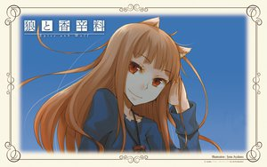 Rating: Safe Score: 9 Tags: animal_ears ayakura_juu brown_hair horo long_hair red_eyes spice_and_wolf wolfgirl User: Pilop
