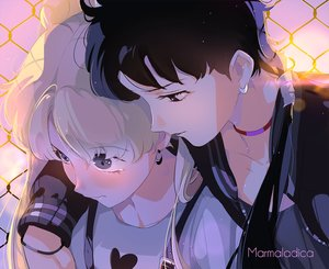 Rating: Safe Score: 32 Tags: 2girls close kou_seiya marmalade_(elfless_vanilla) sailor_moon shoujo_ai tsukino_usagi watermark User: mattiasc02