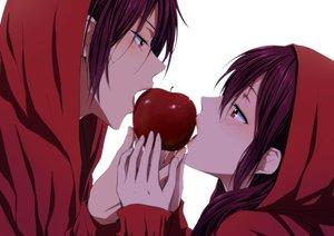 Rating: Safe Score: 142 Tags: apple blush food free! fruit hoodie male matsuoka_gou matsuoka_rin orange_eyes red_hair rito453 User: Maboroshi