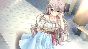 Rating: Safe Score: 67 Tags: brown_eyes game_cg gray_hair hulotte ikegami_akane matsuyuki_ame ore_no_sugata_ga_toumei_ni!?_invisible_to_suuki_na_unmei User: Arsy