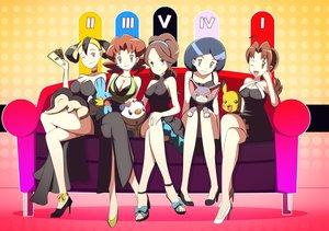 Rating: Safe Score: 101 Tags: breasts cleavage cyndaquil dress glameow mudkip oshawott pikachu pokemon User: FormX