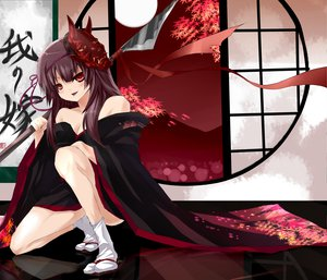 Rating: Questionable Score: 40 Tags: japanese_clothes kimono weapon zqhzx User: gnarf1975