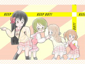 Rating: Safe Score: 11 Tags: galaxy_angel_rune hyuuga_kizuna konohana_hikari minamoto_chikaru natsume_remon parody strawberry_panic User: Oyashiro-sama