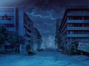 Rating: Safe Score: 124 Tags: game_cg night scenic worlds_and_world's_end User: Wiresetc