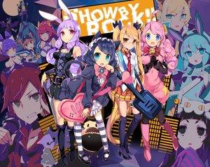 Rating: Safe Score: 123 Tags: animal_ears bunny_ears catgirl chuchu_(show_by_rock!!) hijirikawa_cyan instrument moa_(show_by_rock!!) retoree_(show_by_rock!!) seifuku show_by_rock!! tagme tail tetsubuta thighhighs User: Wiresetc