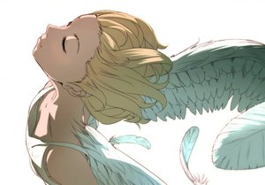Rating: Safe Score: 87 Tags: angel blonde_hair feathers original shimeji white wings User: STORM