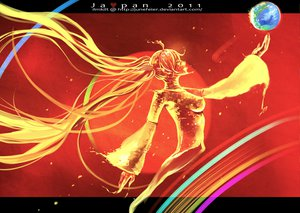 Rating: Safe Score: 24 Tags: hatsune_miku ilmkilt twintails vocaloid watermark User: SciFi