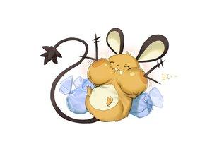 Rating: Safe Score: 8 Tags: animal animal_ears candy dedenne mouse nobody pokemon rai32019 tail white User: RyuZU