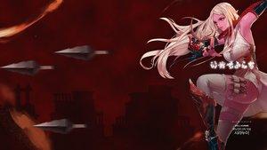 Rating: Safe Score: 21 Tags: blonde_hair dungeon_and_fighter girls long_hair ninja red_eyes User: _Egoist