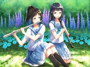 Rating: Safe Score: 32 Tags: 2girls hibike!_euphonium instrument kasaki_nozomi liz_to_aoi_tori lunacle yoroizuka_mizore User: FormX