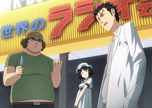 Rating: Safe Score: 24 Tags: black_hair brown_hair hashida_itaru okabe_rintarou shiina_mayuri short_hair steins;gate User: HawthorneKitty