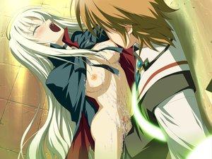 Rating: Explicit Score: 42 Tags: breasts censored cum penis wiz_anniversary User: Oyashiro-sama