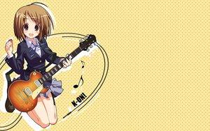 Rating: Safe Score: 30 Tags: guitar hirasawa_yui instrument k-on! User: HawthorneKitty