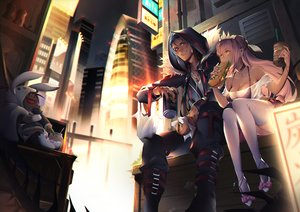 Rating: Safe Score: 54 Tags: breasts building city cleavage cu_chulainn cu_chulainn_alter_(fate/grand_order) dark_skin drink fate/grand_order fate_(series) food jizero male medb_(fate/grand_order) red_eyes yellow_eyes User: sadodere-chan