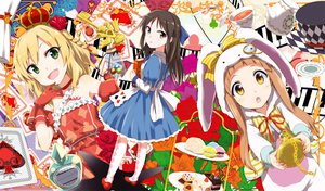 Rating: Safe Score: 66 Tags: dress flowers gochou_(comedia80) idolmaster tagme User: opai