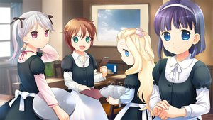 Rating: Safe Score: 10 Tags: elen_mass fiona_washburn game_cg group loli meg_(sweet_robin_girl) primrose_springvale sekiya_asami short_hair sweet_robin_girl waitress User: Wiresetc