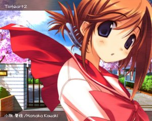 Rating: Safe Score: 5 Tags: amaduyu_tatsuki aquaplus komaki_manaka leaf to_heart to_heart_2 User: Oyashiro-sama