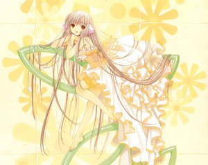 Rating: Safe Score: 20 Tags: chii chobits clamp scan yellow User: Xtea