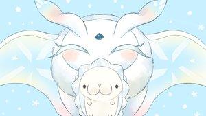 Rating: Safe Score: 9 Tags: cyan frosmoth pokemon polychromatic siratamairipafe snom User: otaku_emmy