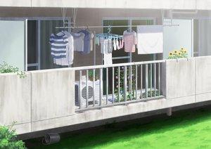 Rating: Safe Score: 29 Tags: building flowers grass hirose_yuki nobody original scenic shirt socks sunflower towel User: otaku_emmy