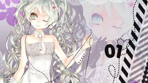 Rating: Safe Score: 48 Tags: ebisu_kana flowers hatsune_miku headphones tie vocaloid User: HawthorneKitty