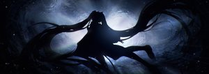 Rating: Safe Score: 64 Tags: dark hatsune_miku lengchan_(fu626878068) long_hair silhouette twintails underwater vocaloid water User: BattlequeenYume