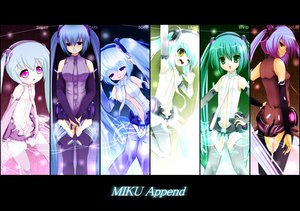 Rating: Safe Score: 64 Tags: hatsune_miku miku_append twintails vocaloid User: HawthorneKitty
