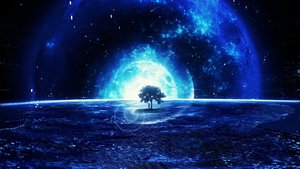 Rating: Safe Score: 98 Tags: blue landscape monochrome original planet scenic tagme_(artist) tree User: BattlequeenYume