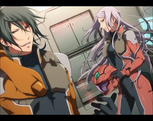 Rating: Safe Score: 34 Tags: allelujah_haptism mobile_suit_gundam mobile_suit_gundam_00 murakami_yuzu soma_peries User: anaraquelk2