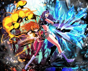 Rating: Safe Score: 114 Tags: lina_inverse naga_the_serpent s_tanly slayers User: opai