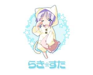 Rating: Safe Score: 3 Tags: hiiragi_tsukasa lucky_star pajamas User: Oyashiro-sama