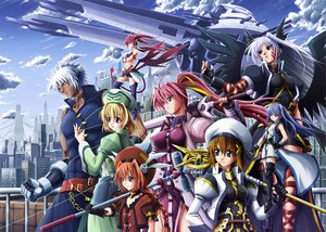 Rating: Safe Score: 44 Tags: agito_(mahou_shoujo_lyrical_nanoha_strikers) mahou_shoujo_lyrical_nanoha mahou_shoujo_lyrical_nanoha_strikers reinforce reinforce_zwei shamal signum vita yagami_hayate zafira User: HawthorneKitty