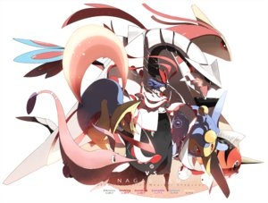 Rating: Safe Score: 51 Tags: cresselia crossover gorebyss lanturn milotic nagae_iku pokemon seaking siirakannu touhou User: FormX