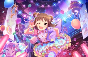 Rating: Safe Score: 12 Tags: annin_doufu bow brown_hair cat_smile chain idolmaster idolmaster_cinderella_girls idolmaster_cinderella_girls_starlight_stage loli lolita_fashion microphone purple_eyes short_hair tagme_(character) thighhighs wink wristwear User: luckyluna