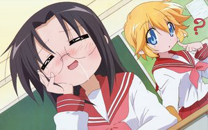 Rating: Safe Score: 38 Tags: lucky_star patricia_martin school_uniform tamura_hiyori User: yukinorakuen