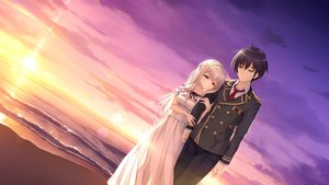 Rating: Safe Score: 17 Tags: beach black_hair blue_eyes brown_eyes clouds dress game_cg kimihara_yua kousaka_tsubame long_hair male mikagami_mamizu pieces/wataridori_no_somnium scenic school_uniform short_hair sky sunset tie water whirlpool white_hair User: mattiasc02