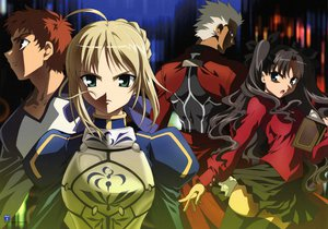 Rating: Safe Score: 18 Tags: archer emiya_shirou fate/stay_night megami saber tohsaka_rin type-moon User: 秀悟