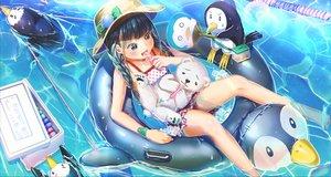 Rating: Safe Score: 16 Tags: abo_(kawatasyunnnosukesabu) animal bear braids food hat loli original penguin pool popsicle summer swim_ring swimsuit twintails water wet User: BattlequeenYume