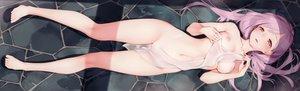 Rating: Explicit Score: 238 Tags: barefoot breasts cropped dualscreen gayarou long_hair navel nipples nude original purple_hair pussy red_eyes scan see_through towel wet User: BattlequeenYume
