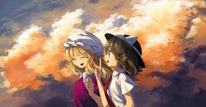 Rating: Safe Score: 20 Tags: 2girls maribel_han tagme tagme_(artist) touhou usami_renko User: luckyluna
