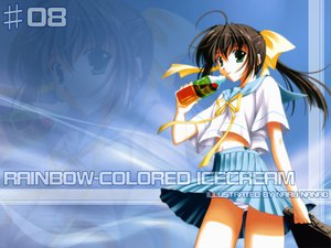 Rating: Safe Score: 8 Tags: nanao_naru rainbow_colored_icecream User: Zero