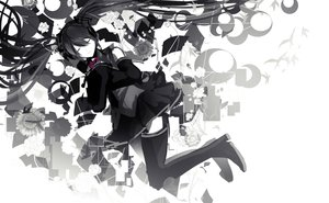 Rating: Safe Score: 23 Tags: hatsune_miku nyakkunn polychromatic rolling_girl_(vocaloid) vocaloid User: FormX