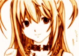 Rating: Safe Score: 45 Tags: amane_misa death_note godees monochrome User: SciFi